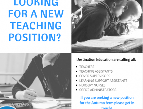 Are you a teacher looking for supply work?